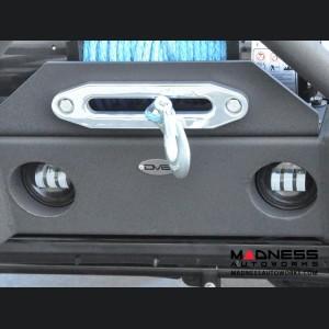 """Jeep Wrangler JK Replacement LED Fog Lights - 4"""""""
