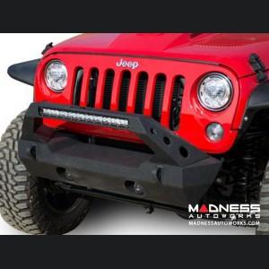 Jeep Wrangler JK Stubby Bumper - Front