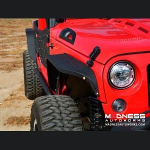 Jeep Wrangler JK Slim Fender - Textured Powdercoat