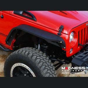 Jeep Wrangler JK Slim Fender - Textured Powdercoat