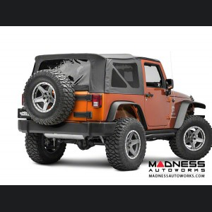 Jeep Wrangler JK Spare Tire Relocation Kit