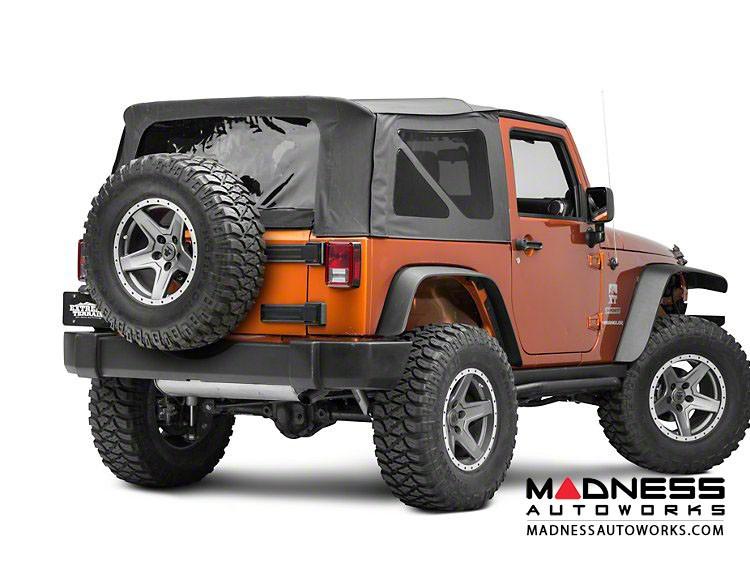Jeep Wrangler JK Spare Tire Relocation Kit