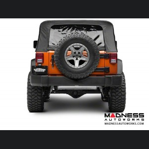 Jeep Wrangler JK Tailgate Saver / Spare Tire Relocator Kit