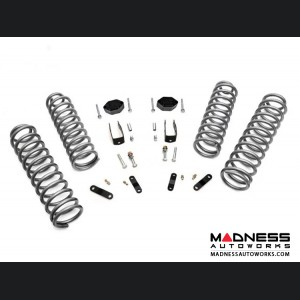 "Jeep Wrangler JK 4WD Suspension Lift Kit w/ Vertex Shocks - 2.5"" Lift"