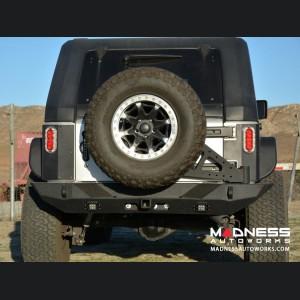 Jeep Wrangler JK Tire Carrier - Black - (ADD ON FOR RS-10 & 11)