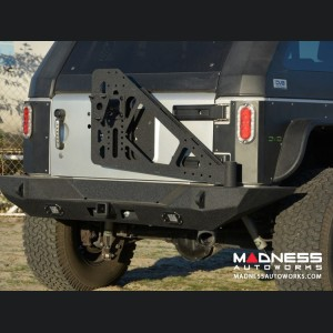 Jeep Wrangler JK Tire Carrier - Black - (ADD ON FOR RS-10 & 11)