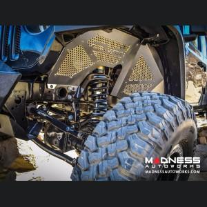 "Jeep Wrangler JK Threaded Hydraulic 2.0 Bump Stops W/ 2.5"" Stroke - Pair"