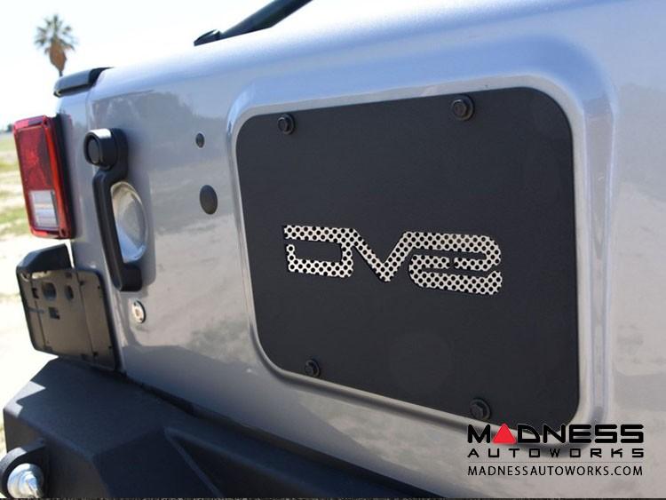 Jeep Wrangler JK Tramp Stamp - Textured Black