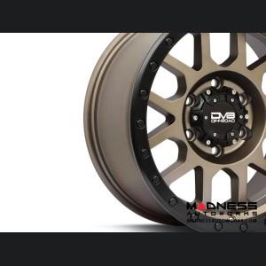 "Jeep Wrangler JL 883 Off-Road Beadlock Wheel - Matte Black - 17x8.5"""