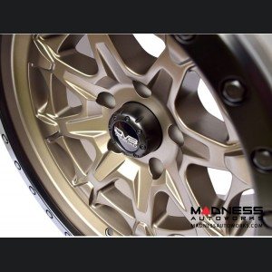 Jeep Wrangler JL 886 Off-Road Beadlock Wheel - Black - 17x8.5""