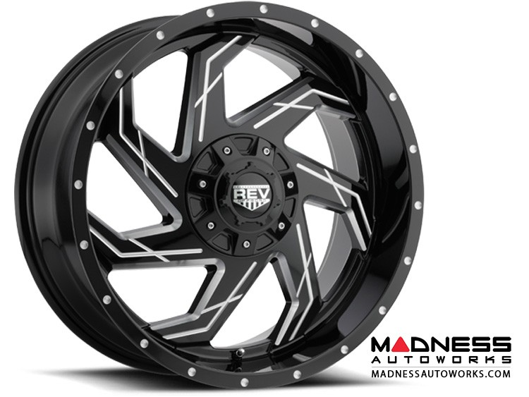 Jeep Wrangler JL Custom Wheels - 895 - Rev KO Offroad