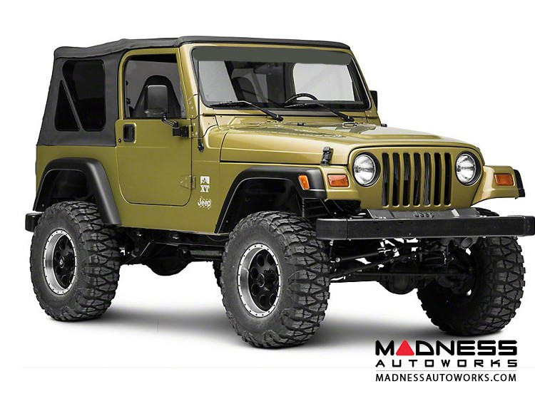 "Jeep Wrangler JL Reflex Stubby Antenna - 21"""