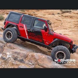 Jeep Wrangler JL Boatside Sliders - 4 Door Only