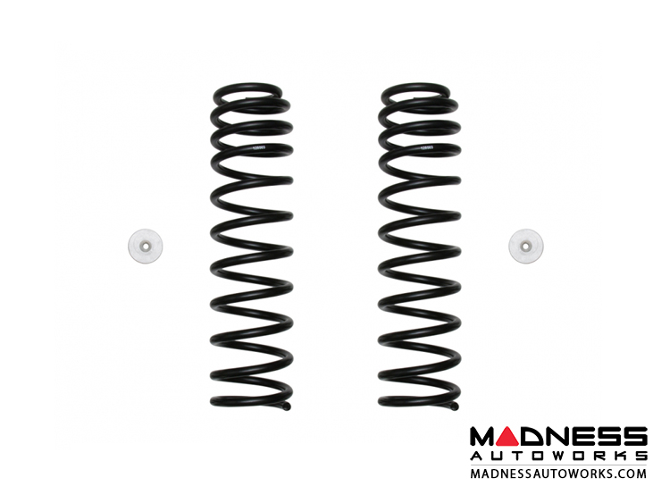 """Jeep Wrangler JL Dual Rate Coil Spring Kit - Front - 2.5"""""""