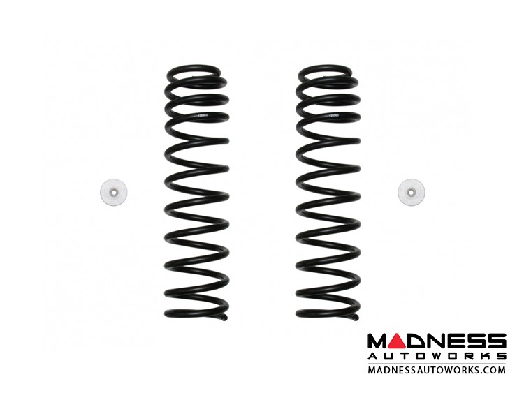 Jeep Wrangler JL Dual Rate Coil Spring Kit - Front - 2.5""