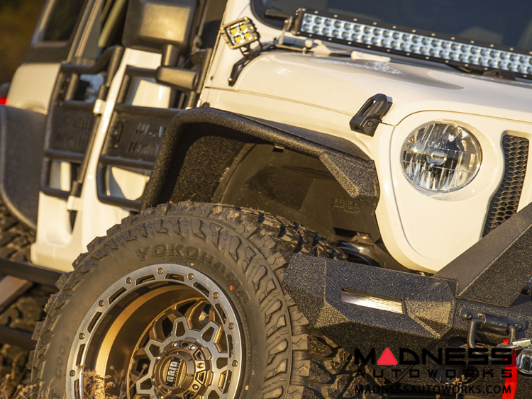 Jeep Wrangler JL TrailChaser Front Bumper w/ Fender Flares - Option 9