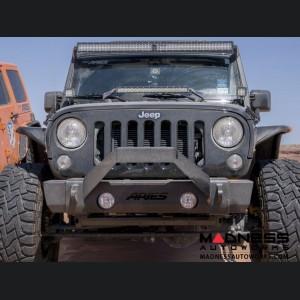 Jeep Wrangler JK TrailCrusher Front Bumper w/ Brush Guard