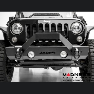 Jeep Wrangler JK TrailCrusher Front Bumper w/ Brush Guard