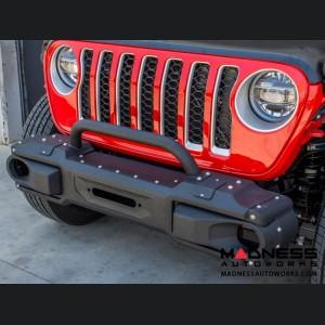 Jeep Wrangler JL Modular Front Bumper w/ Bull Bar
