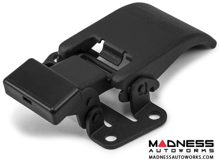 Jeep Wrangler JL Hard Top Latch Closure Mechanism