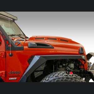 Jeep Gladiator Heat Dispersion Hood - Steel