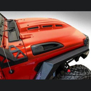 Jeep Wrangler JL Heat Dispersion Hood - Steel