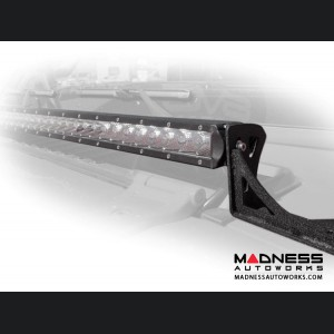 Jeep Wrangler JL LED Light Bar Mount Over Hood - 40""