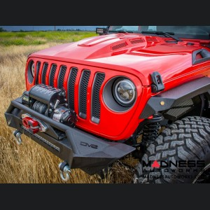 Jeep Wrangler JL Headlight Adapter w/ Wiring - Allows JK Light Fitment to JL