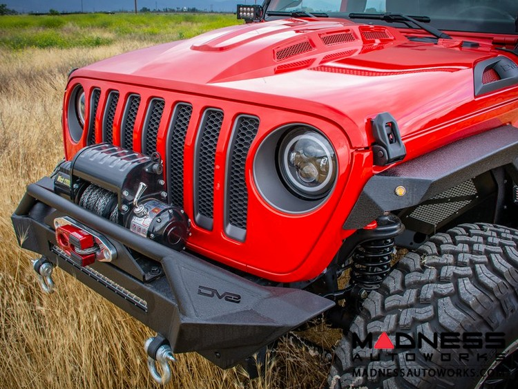 Jeep Wrangler JL Headlight Adapter w/ Wiring - Allows JK Light Fitment to JL