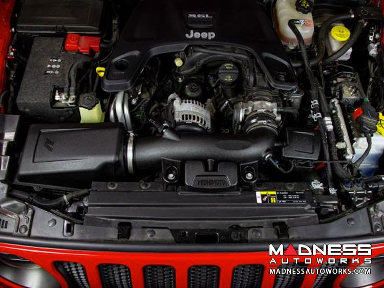 Jeep Gladiator JT 3.6L V6 Performance Air Intake - Dry Filter by Mishimoto