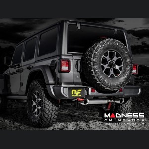 Jeep Wrangler JL 3.6 Performance Exhaust by Magnaflow - Dual Exit - Polished Tips