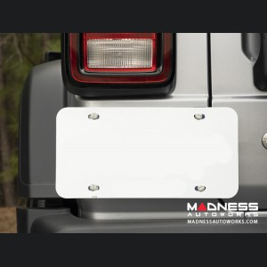 Jeep Wrangler JL Magnetic License Plate Holder