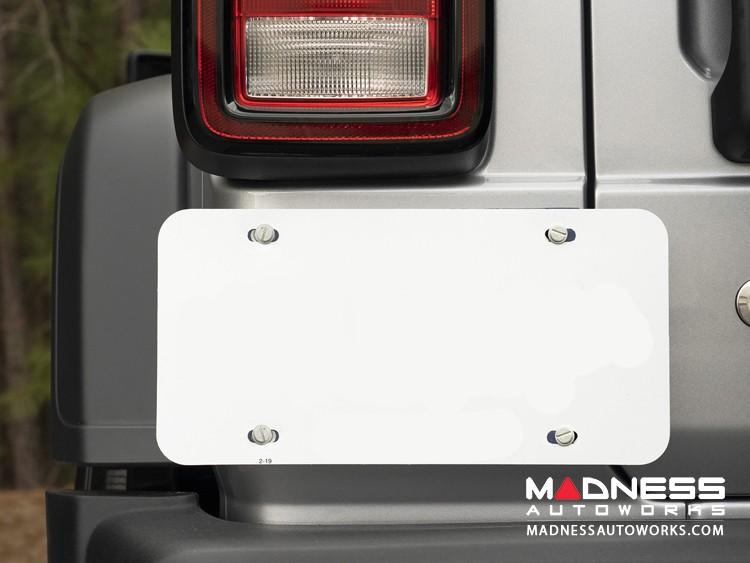 Jeep Wrangler JL Magnetic License Plate Holder