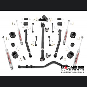 "Jeep Wrangler JL Suspension Lift Kit w/Spacers & Adjustable Control Arms - Stage 2 - 3.5"" Lift"