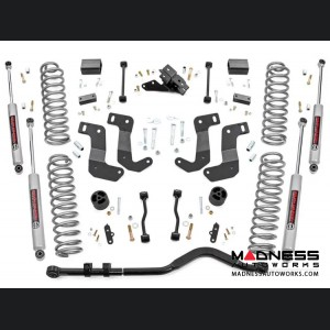 "Jeep Wrangler JL Unlimited Suspension Lift Kit w/Control Arm Drop - 3.5"" Lift"