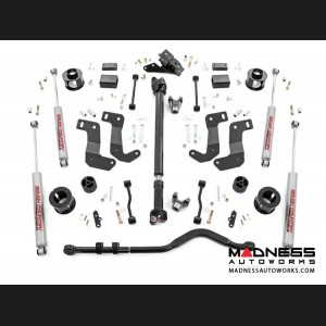 "Jeep Wrangler JL Suspension Lift Kit w/Control Arm Drop - Stage 1 - 3.5"" Lift"