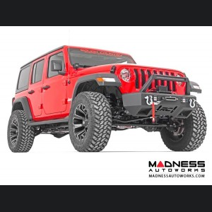 "Jeep Wrangler JL Suspension Lift Kit w/Coil Springs & Control Arm Drop Bracket - Stage 2 - 3.5"" Lift"