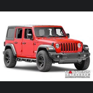 Jeep Wrangler JL Nerf Bar - EpYx Style - N-Fab - Textured Black