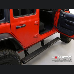 Jeep Wrangler JL Side Step - PowerStep - Black - 4Dr