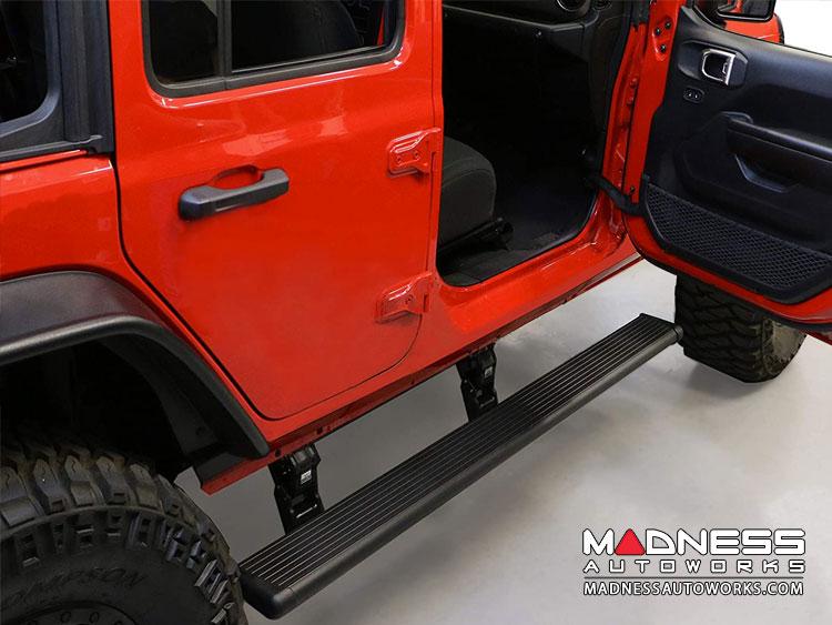 Jeep Wrangler JL Side Step - PowerStep - Black - 4Dr