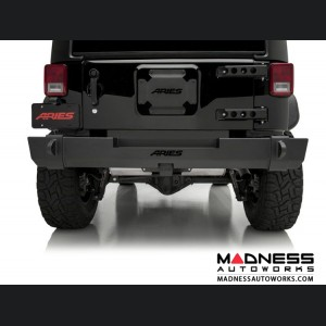 Jeep Wrangler JK TrailCrusher Rear Bumper - Carbide Black Powder Coat