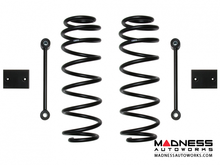 Jeep Wrangler JL Dual Rate Coil Spring Kit - Rear - 2.5""