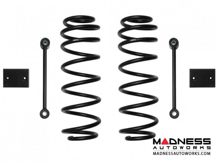 "Jeep Wrangler JL Dual Rate Coil Spring Kit - Rear - 2.5"""