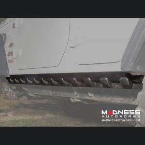 Jeep Wrangler JL Unlimited Body Armor Rocker Guards - Pair - 4 Door