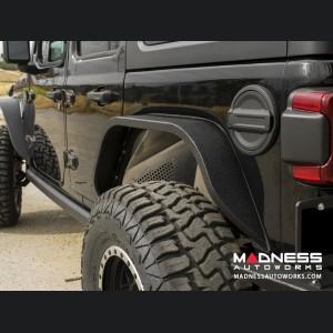 Jeep Wrangler JL Slim Fenders w/ LED Turn Signal Lights