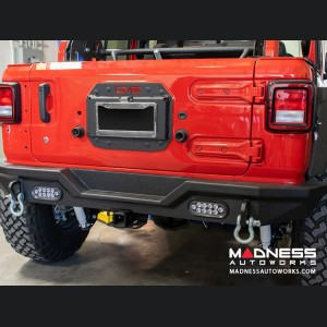 Jeep Wrangler JL Spare Tire Delete Kit w/LED Light