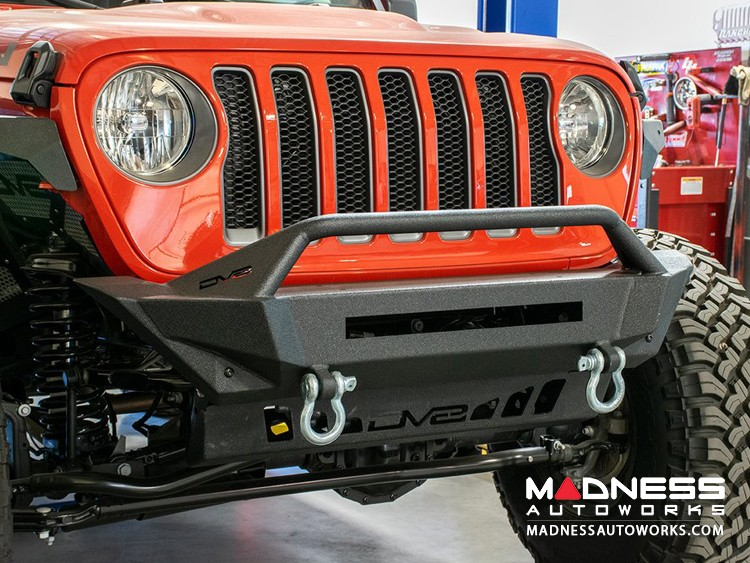 Jeep Wrangler JL FBJL-01 Specific Stubby Bumper - Front