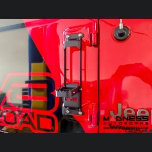 Jeep Wrangler JL Door Hinge Mounted Steps