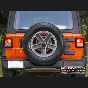 Jeep Wrangler JL Spartacus HD Tire Hinge Casting