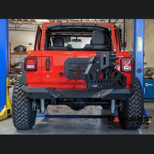 Jeep Wrangler JL Rear Bumper w/ Tire Carrier